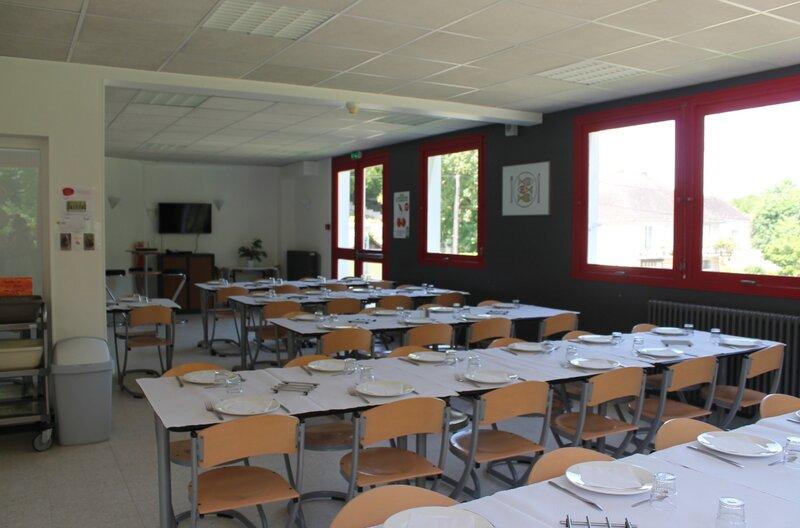 L'espace de restauration Centre de séjour Saint-Aignan
