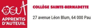 Logo collège Sainte Bernadette
