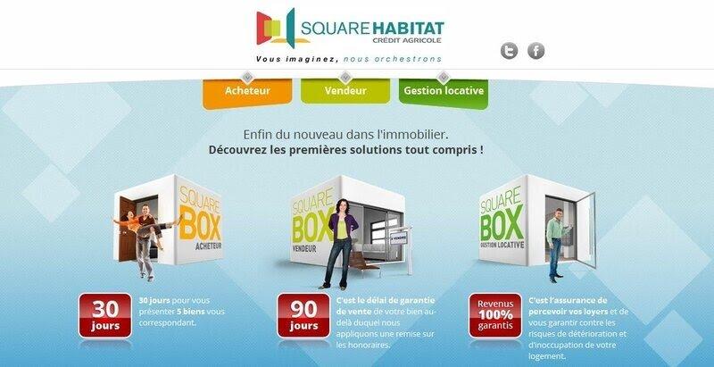 Offres square box Square Habitat