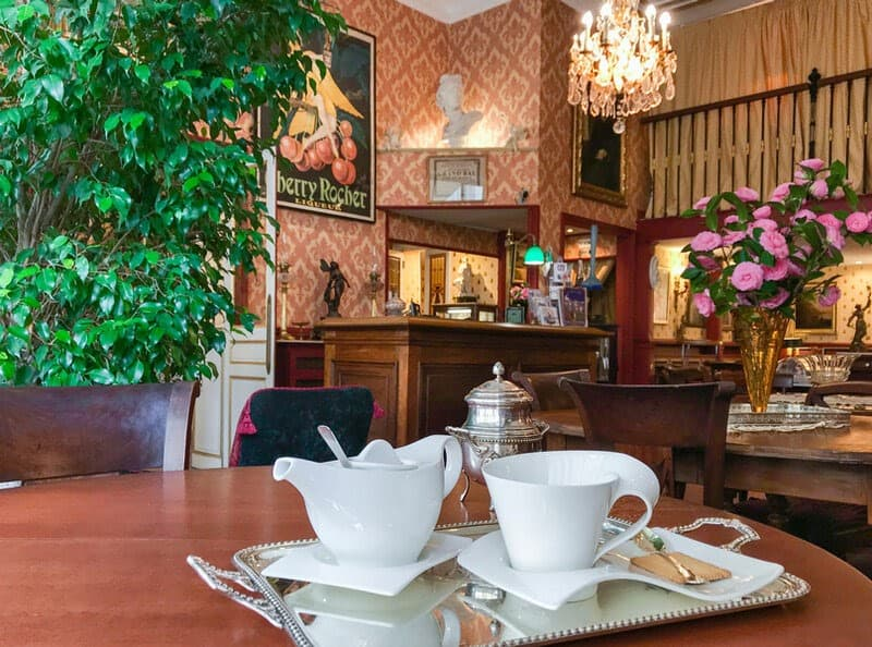 Salon de thé Hôtel de l'abeille